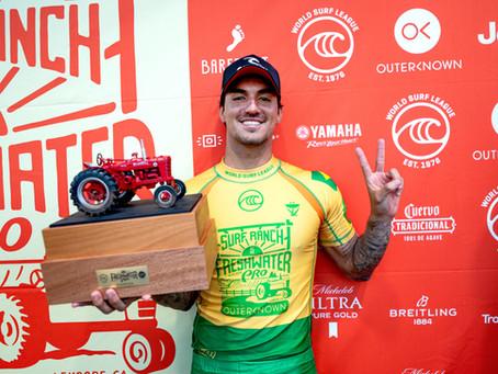Gabriel Medina vence (de novo) etapa do Surf Ranch e se aproxima do Tricampeonato mundial