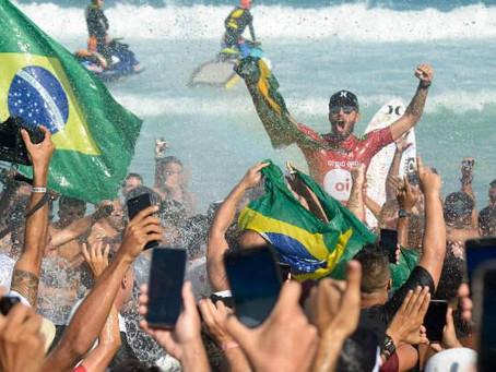Filipe Toledo é campeão do CT de Saquarema e acirra briga pelo título mundial de surf de 2019