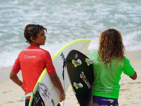 """Retorno das competições de surf no Brasil movimenta o esporte para os """"gromets"""" no Rio"""