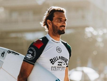 Surfista português Frederico Morais é diagnosticado com Covid-19 e está fora das Olimpíadas