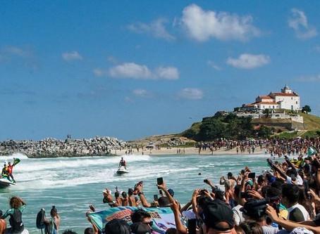 Mundial de Surf no Rio de Janeiro chega à sua 30ª edição nesta quinta-feira - Relembre