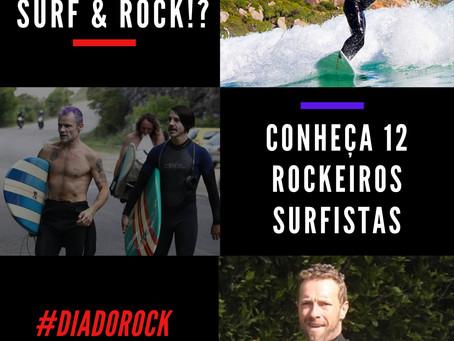 Rock e Surf? Conheça 12 Rockeiros que também são surfistas - Conhece todos eles? - #DiadoRock