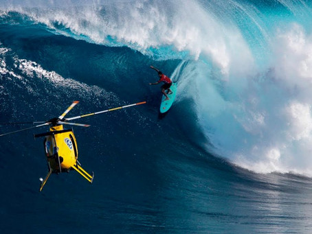 ONDAS GIGANTES se aproximam do Hawaii e geram expectativa de swell HISTÓRICO em JAWS