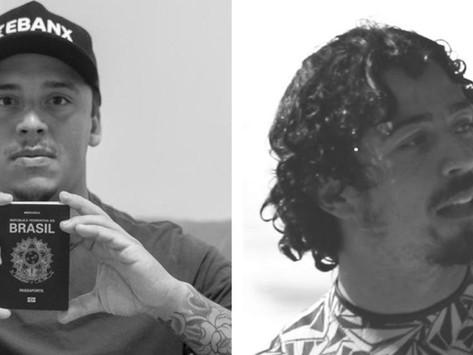 """Surfistas brasileiros passam """"perrengue"""" com a pandemia e quase perdem a estreia no Pipe Masters"""
