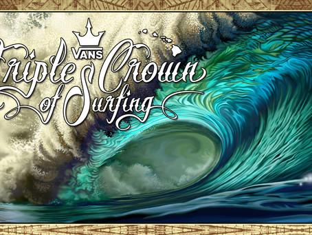 """Conheça a """"Tríplice Coroa Havaiana"""" - um dos campeonatos mais tradicionais do mundo do surf"""