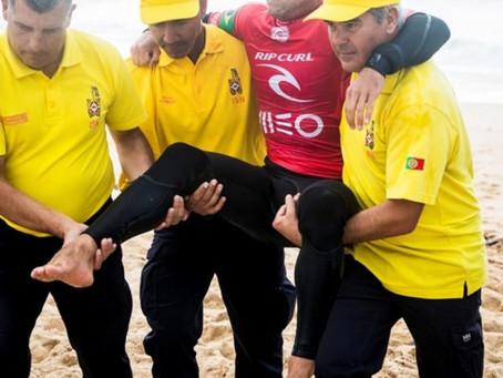 Brasileiro campeão mundial de surf tem lesão confirmada e está fora do mundial de surf em 2018