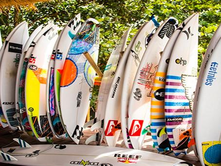 Dicas de como escolher a prancha de surf ideal para você: Entendendo o Outline