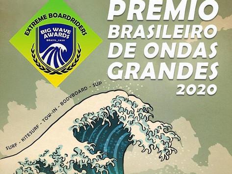 Conheça os vencedores do Prêmio Brasileiro de Ondas Grandes 2020