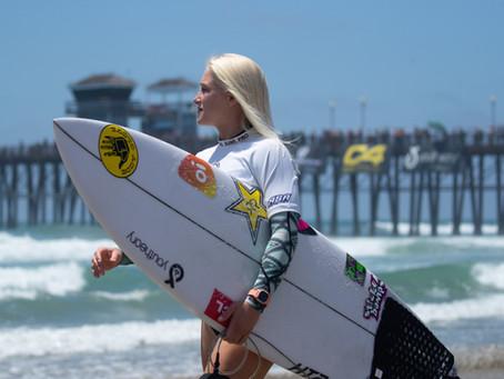 Tati Weston-Webb volta às competições nesse fim de semana no Nissan Super Girl Surf Pro