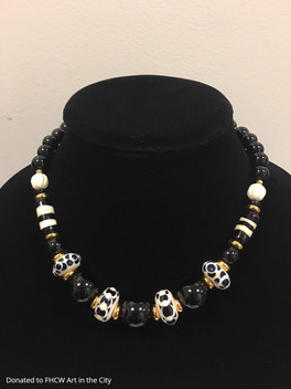 Kim Cutler, Black & White Necklace