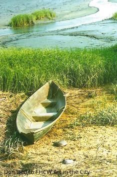 John Gaumond, Boat in Bay