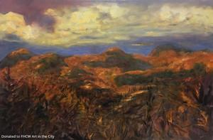 Aline Lotter, Shadows Over Mt. Washington Valley