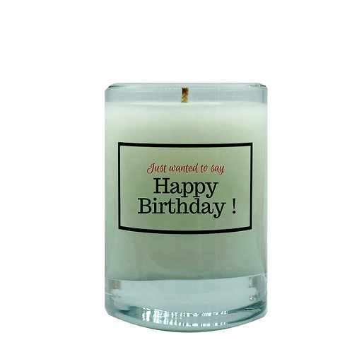 Happy Birthday ! Candle