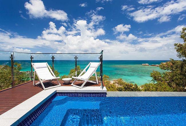 Oceanview Villa at Lizard Island Resort.