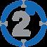 2 Grad Ziel Logo Transparent png
