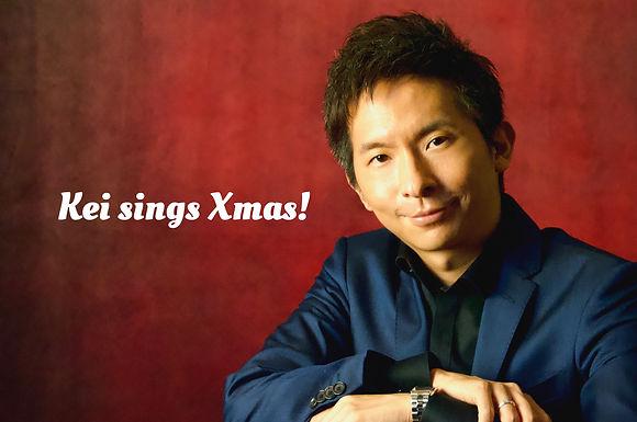 """小林桂クリスマスツアー2020 """"Kei sings Xmas!"""" 開催決定!12/10〜12/25"""