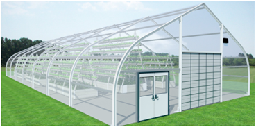 Sprung Greenhouse Structures