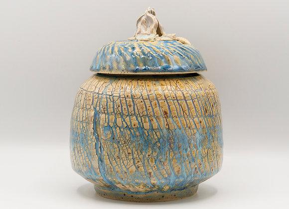 Leaf Knob Jar