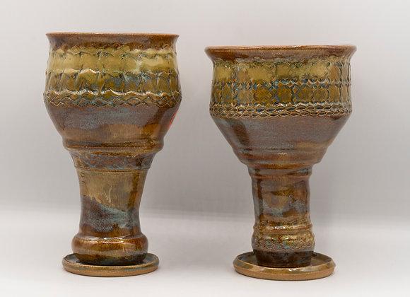 Textured Goblet