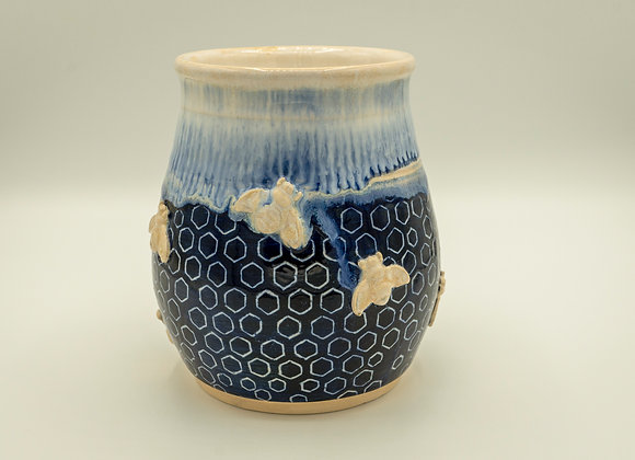 Royal Honeycomb Vase