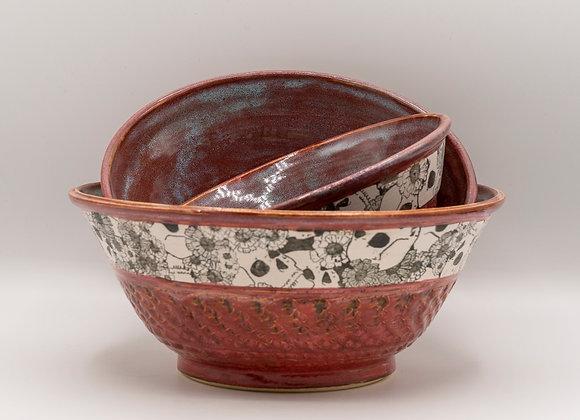 Skull Bowl set of 3