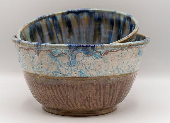 Floral Bowl set of 2