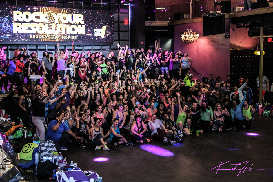 Rock Your Resolution 2017 | Zumba in the Club