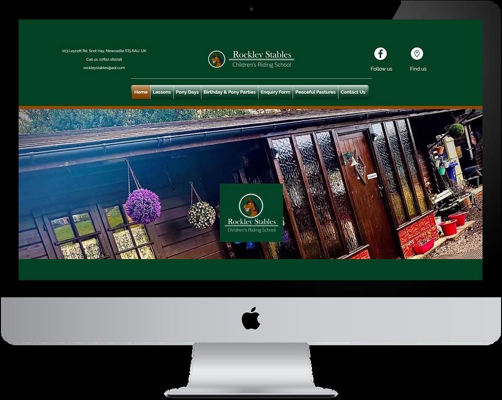 "alt=""Rockey Stable Website Screen"""