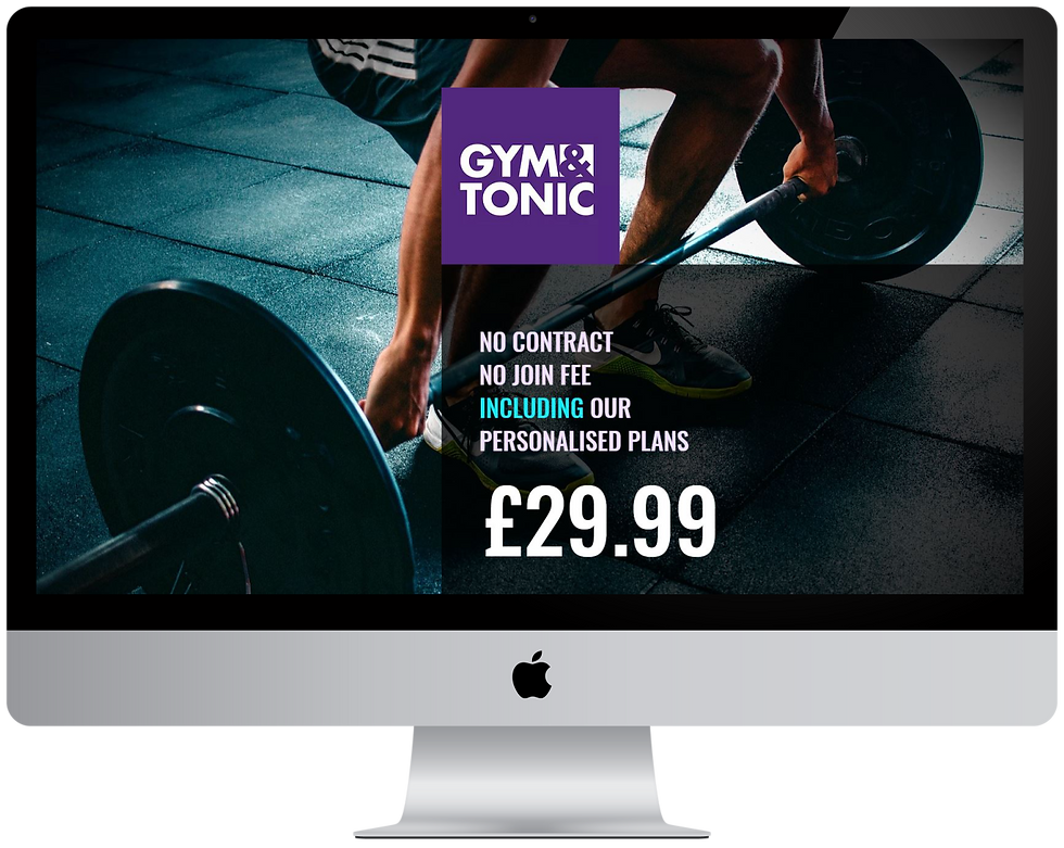 """alt=""""Web page screen Gym and Tonic"""""""