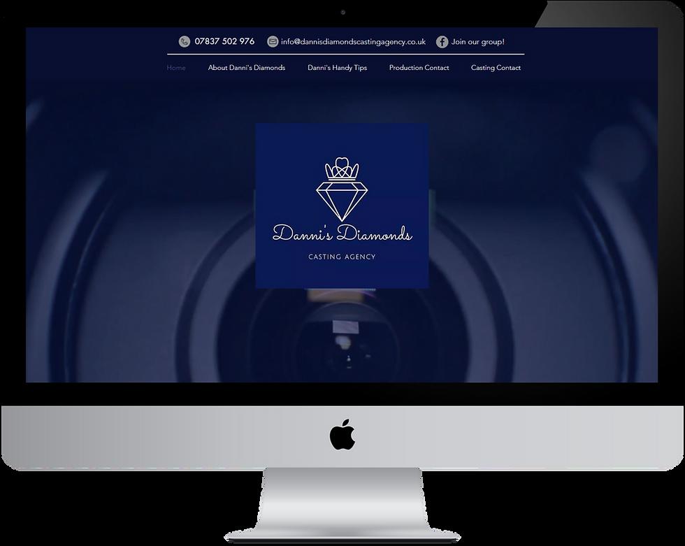 """alt=""""Website Screen Dannis Diamonds"""""""