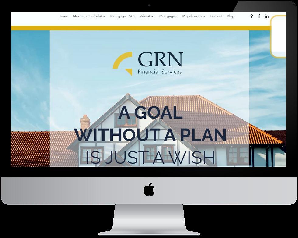 33 Creative Web Design GRN Financial Services