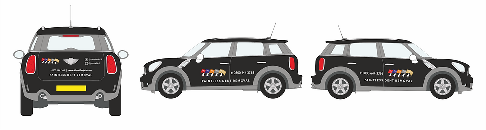 Vehicle graphics 33 Creative identified PDR