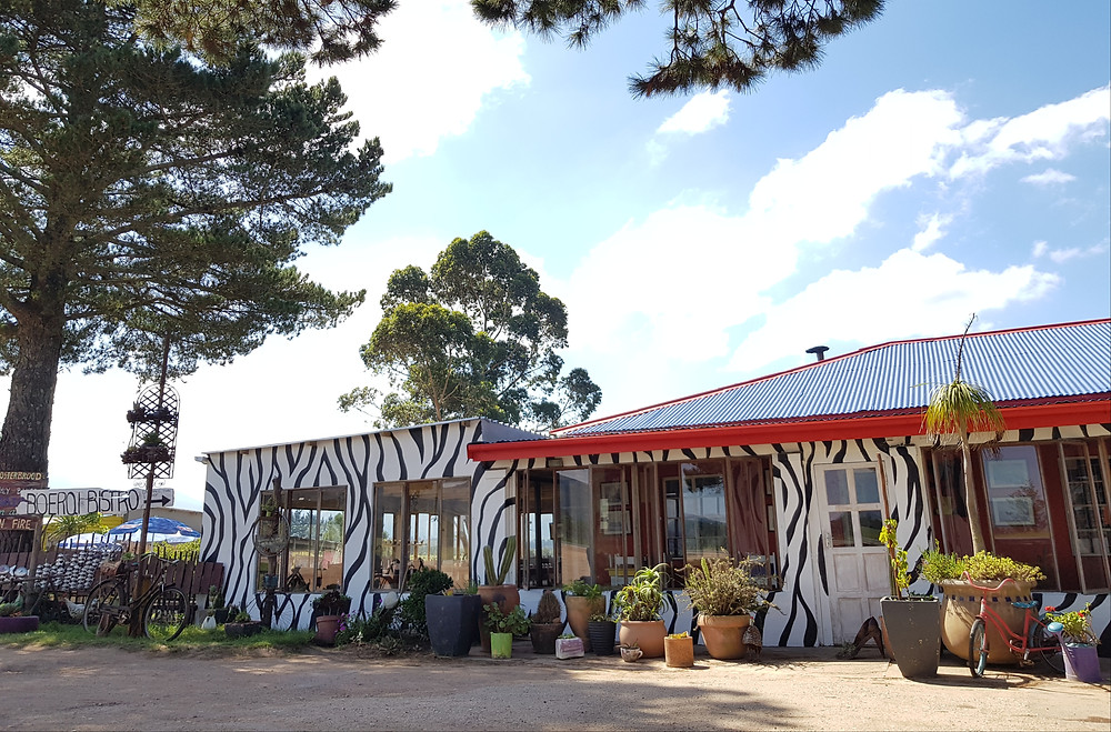 The farm stall and Bistro