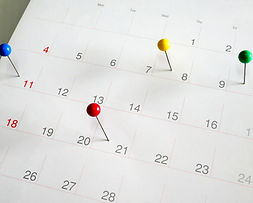 Events calendar- mark the event day with