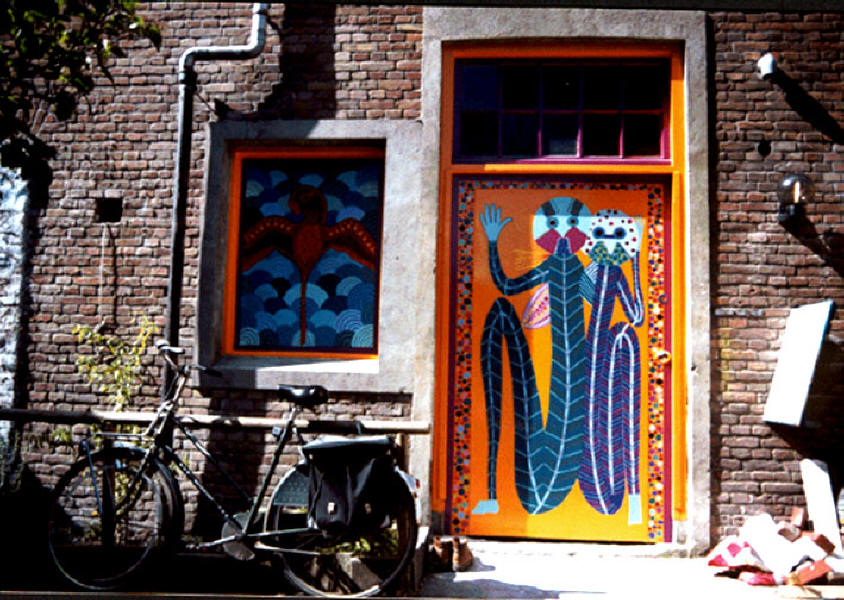 1999 Entrance Sauna Amsterdam