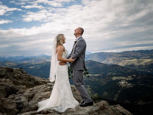 Summer Wedding at Flagstaff House Restaurant