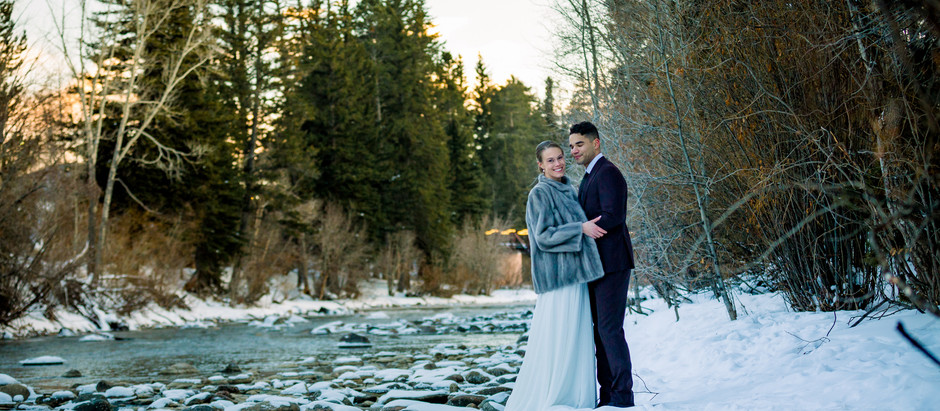 Winter Wedding at Silverthorne Pavilion