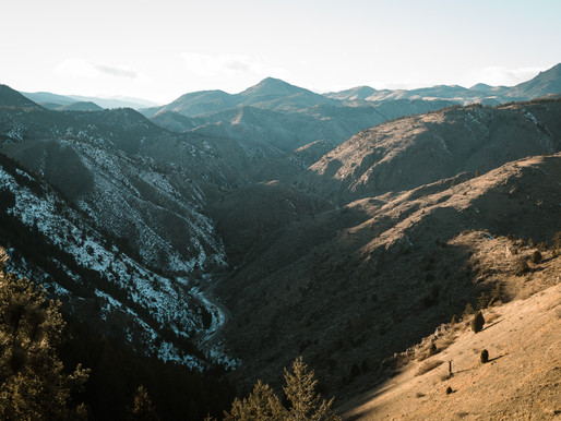 Lookout Mountain Engagement Session in Golden
