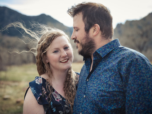 Engagement Session in Boulder, South Mesa Trail
