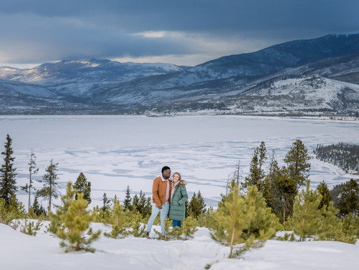 Sapphire Point Engagement Session in Dillon
