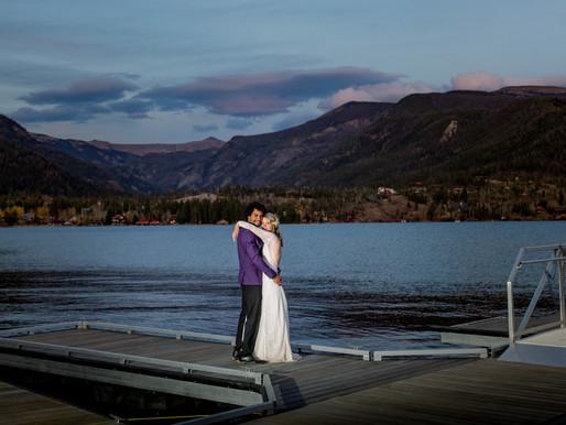 Wedding at Grand Lake Lodge