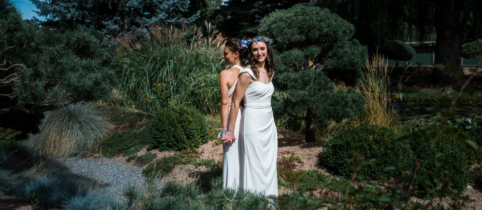 Wedding at Hakubai Zen Center in Boulder