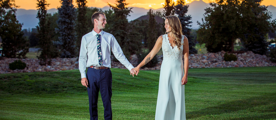 Wedding at Private home in Firestone