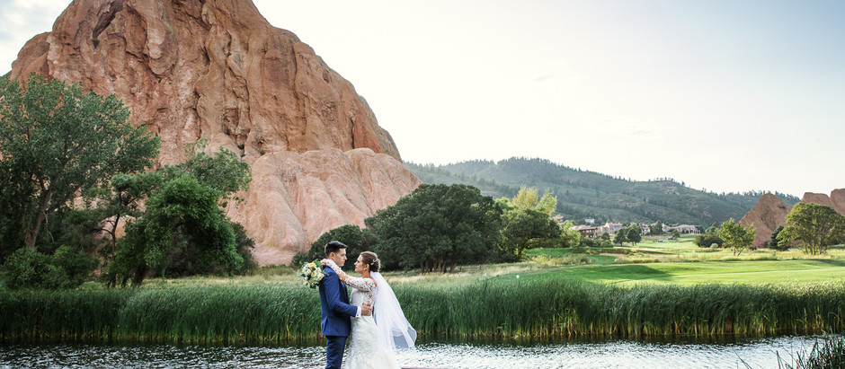 Wedding at Arrowhead Golf Course in Littleton