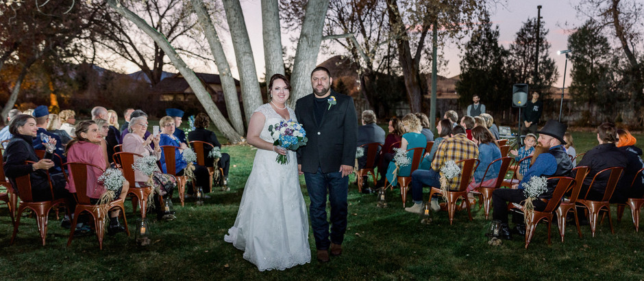 Wedding at Haystack Hearth in Niwot