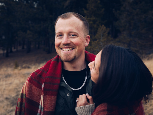 Mountain Engagement Session in Nederland, Colorado