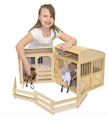 Foldable Horse Barn