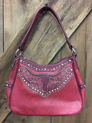 Bling Purse Red and Burgundy