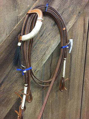 One Ear Headstall and Reins