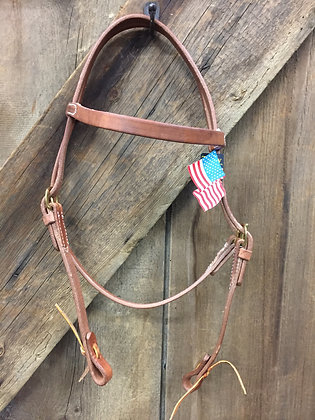 Western Headstall with Browband